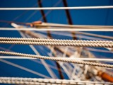"Sea Cloud-Fotoserie: <br> ""Seile und Taue"""